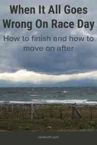 Wrong on race day