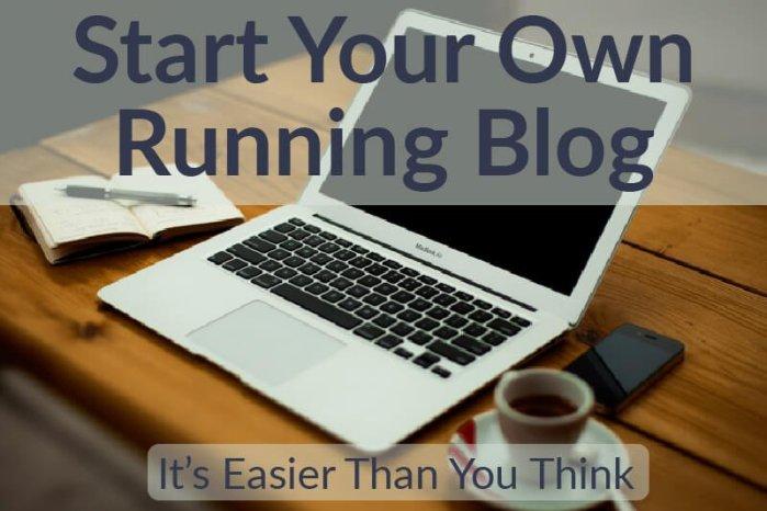 Start Own Running Blog