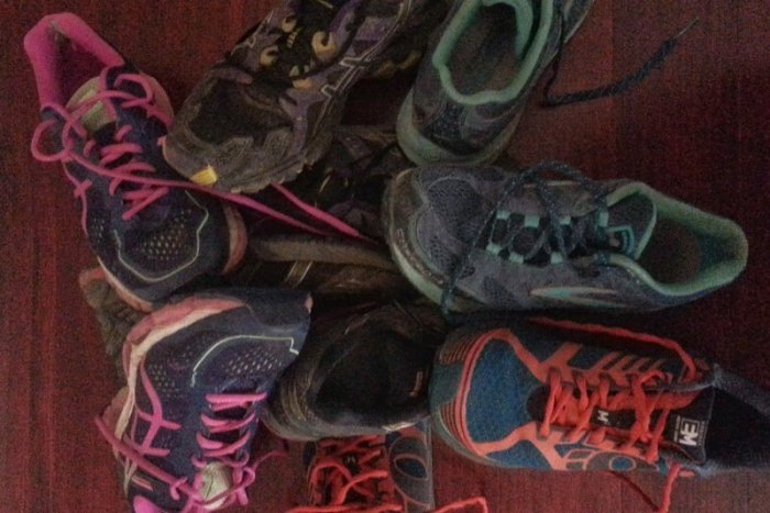 Replacing running shoes