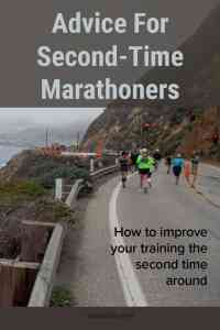 Second Marathon Advice