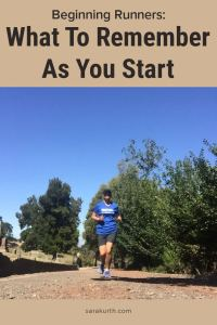 Being a beginner is hard. Running is no different. Here are a few things to remember as you begin your running journey