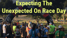 Expecting the Unexpected on race day