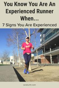 Experienced Runners