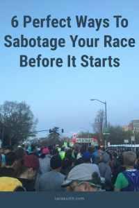 race day sabotage