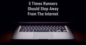 Runners Step Away From The Internet