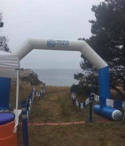 Salt Point Trail Race Starting Arch
