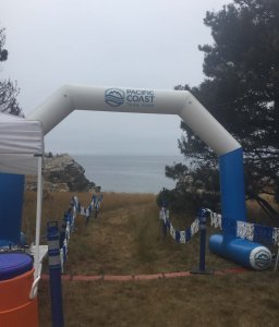 Salt Point Trail Race Starting Arch