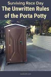 Porta Potty On The Street