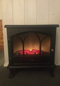 Faux Heater Fireplace