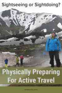 Physically Preparing for active travel