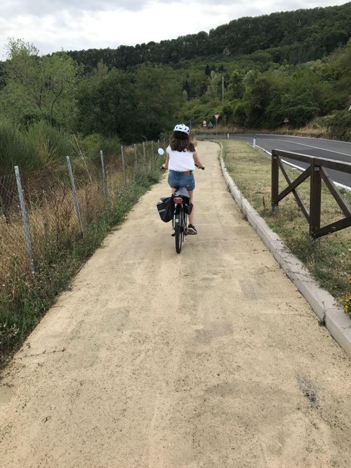 Piancastagnaio in bici