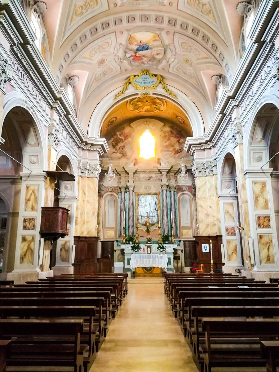 Piansano: Chiesa di San Bernardino da Siena e la Madonna del Rosario