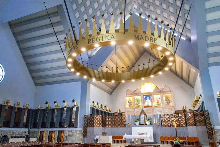 Interno del Santuario della Madonna Incoronata