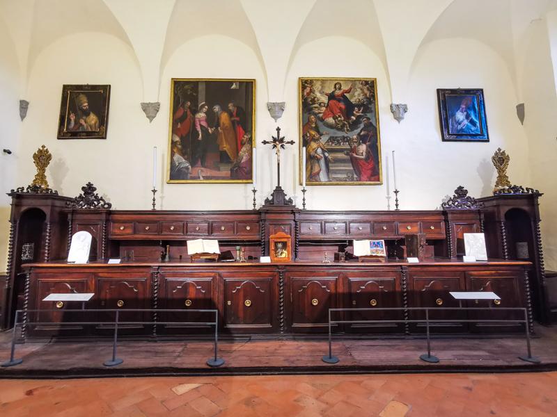 Sacrestia Museo Diocesano Volterra