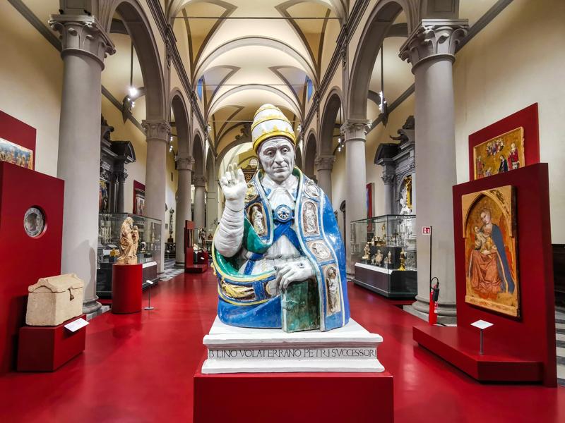 San Lino Museo Diocesano Volterra