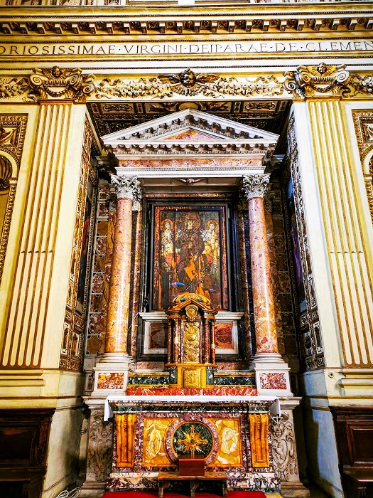 Cappella-Madonna-della-Clemenza-Roma