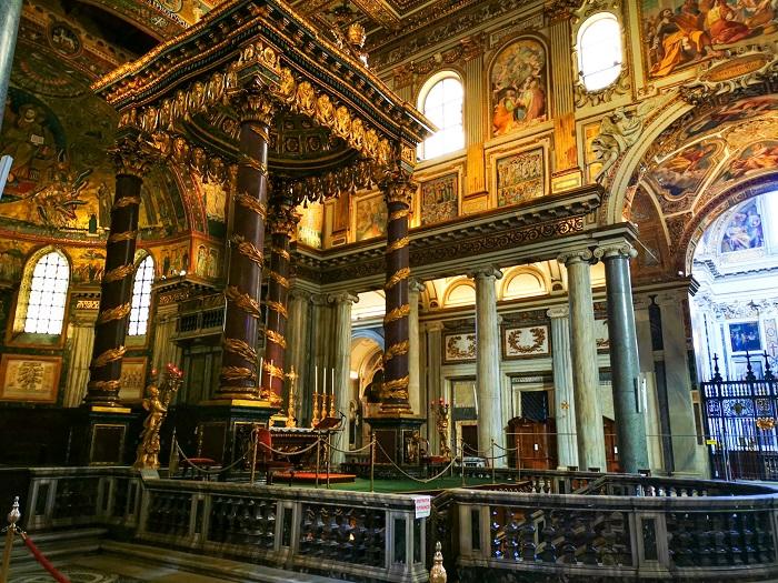 altare-Basilica-Santa-Maria-Maggiore