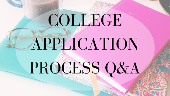 College Application Process Q&A