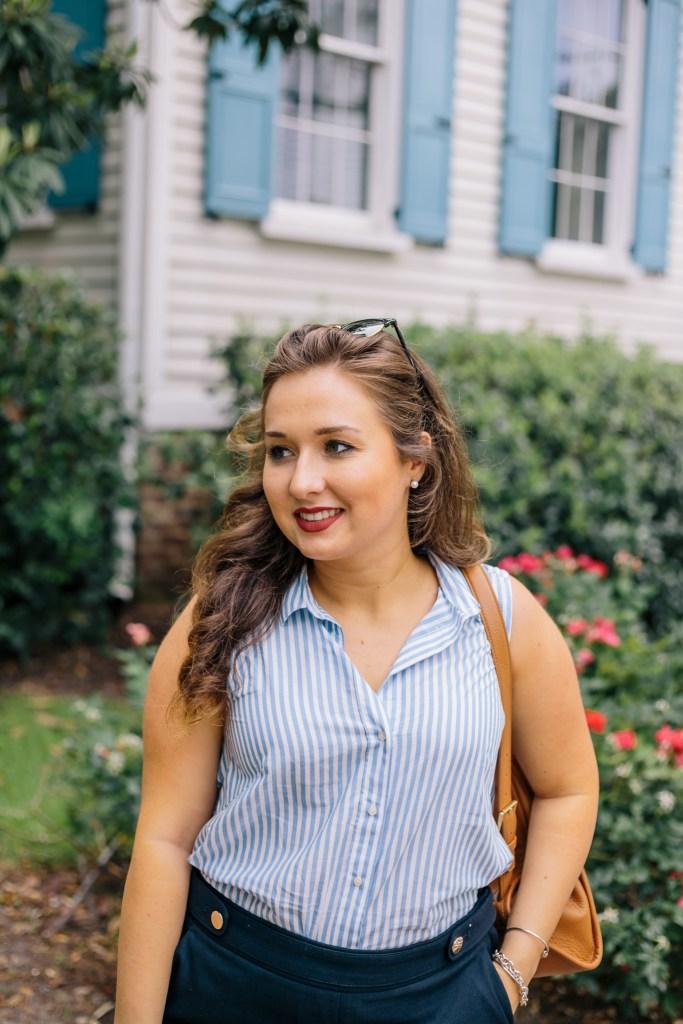 Sara Magnolia - What to Wear on a Summer Trip - Charleston, SC