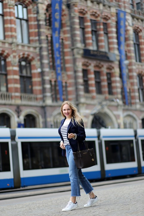 Amsterdam magna plaza business casual outfit