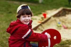 Child psychiatrist treats a boy