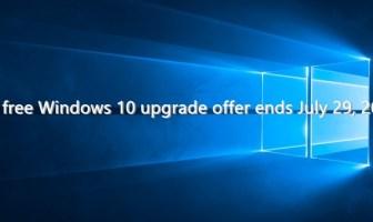 Free Windows 10 upgrade offer ends July 29, 2016