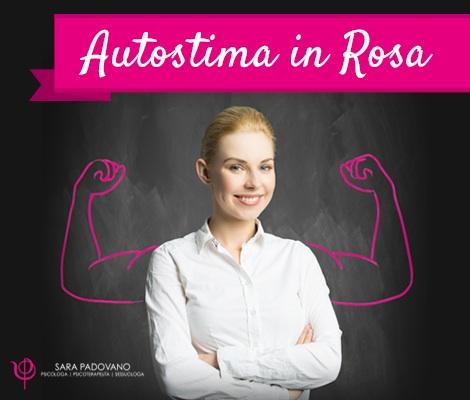 Autostima in Rosa, percorso in 3 incontri a Genova