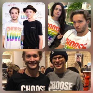 """CHOOSE LOVE"" - Toby Regbo e... Jamie Bower, Millie Brady, Simon Amstell"