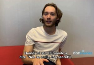 TOBY REGBO Interview Convention Milan 2019 (exclusive by @daninseries)