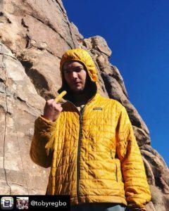Toby Regbo: è in diretta! Toby Regbo a Joshua Tree...