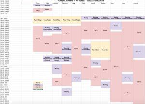Toby Regbo: DIAH2 giugno 2020. Planning DIAH2 - Domenica 28 giugno