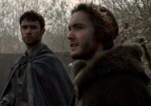 Toby Regbo: TLK 4. Toby Regbo and Jamie Blackley - Aethelred and Eardwulf in TLK 4