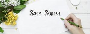 header del sito sara Simoni