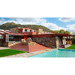 Taliesin West, Frank Lloyd Wright's former winter home in Scottsdale, AZ