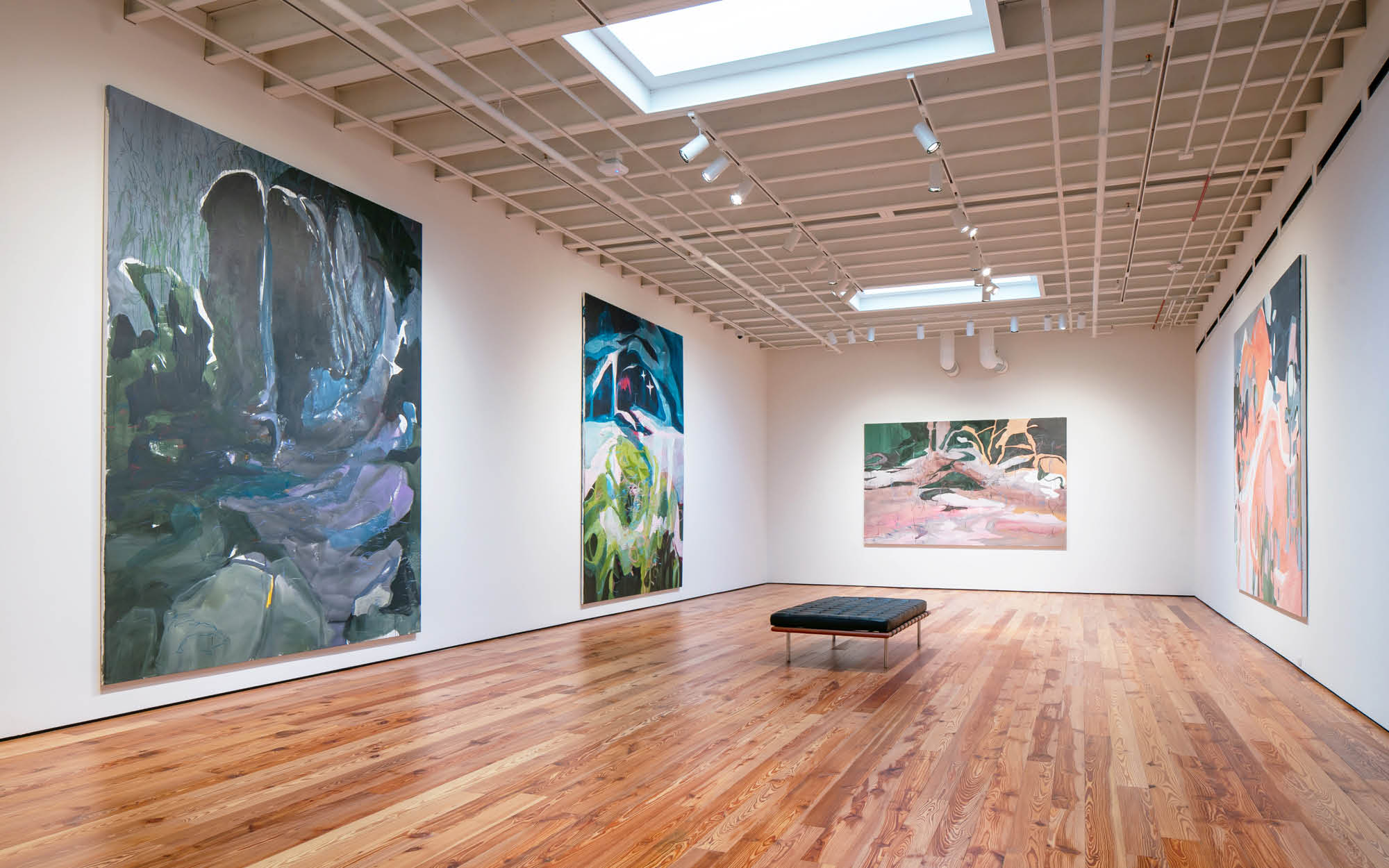 Janaina Tschäpe: Between the Sky and the Water (Installation view)