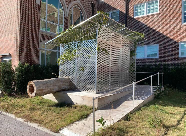JPW3's Zen Jail is a site specific art installation at Sarasota Art Museum