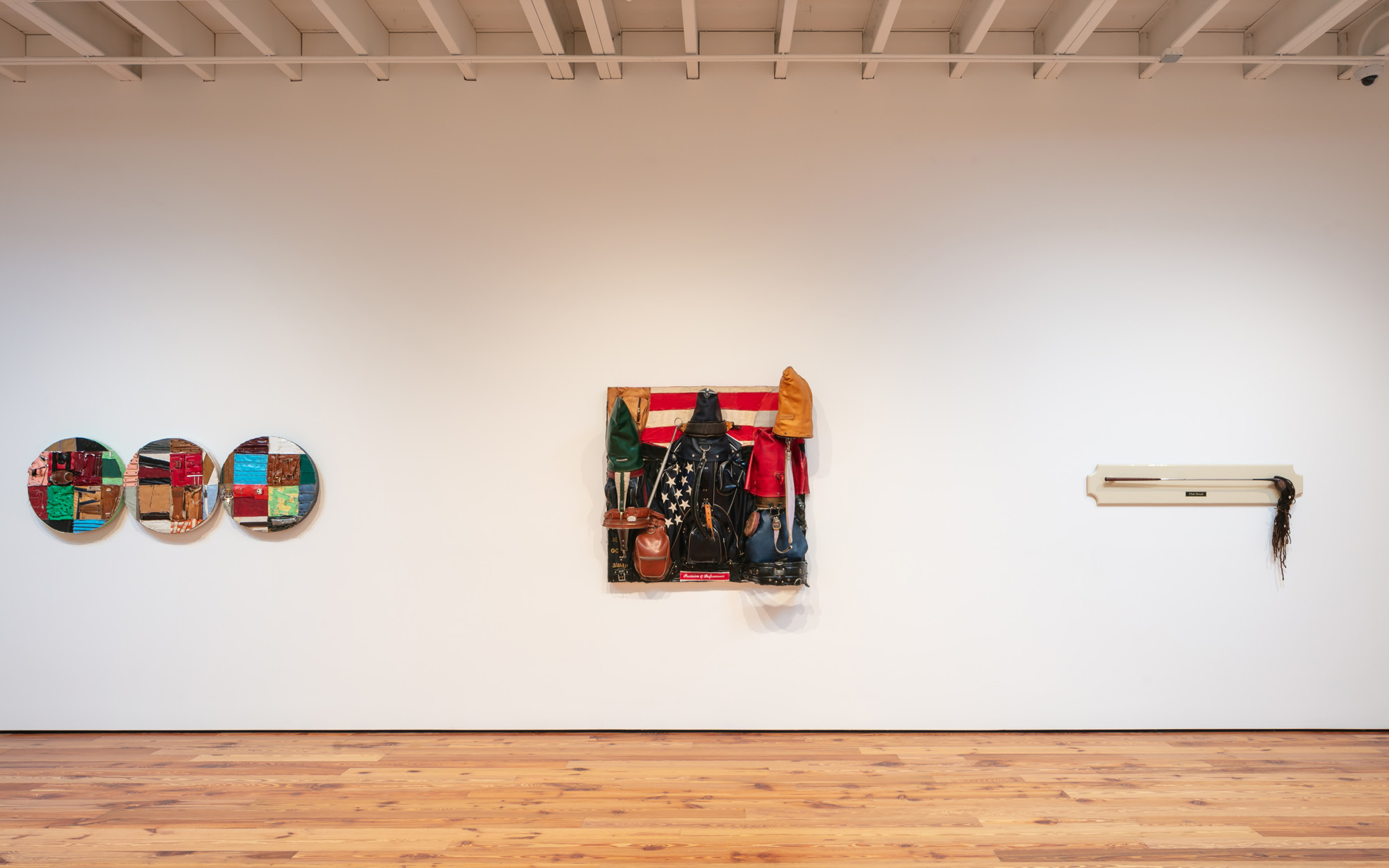 """Installation view of """"Charles McGill: In the Rough"""" at Sarasota Art Museum. On view May 29 - November 21, 2021, Photo: Ryan Gamma"""