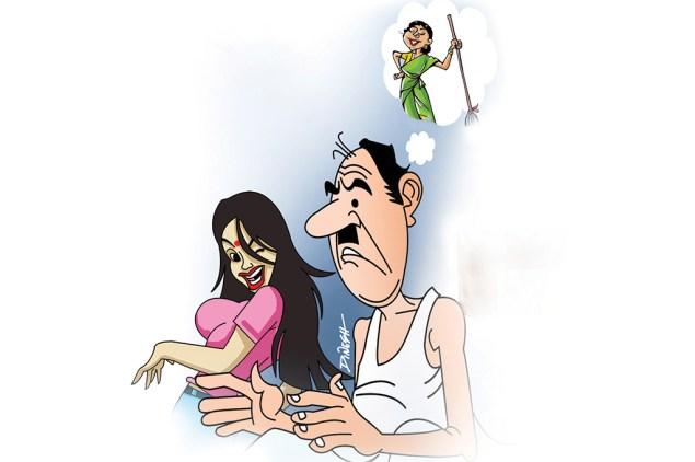 hindi story patni ka swatchhta abhiyan
