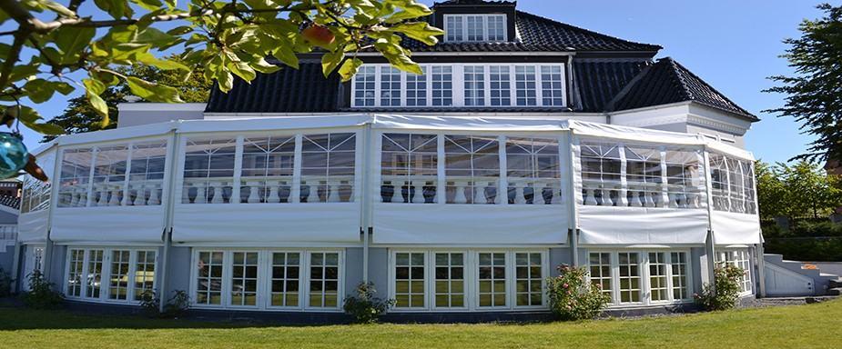 Terrassetelte leveret af Sara Telte