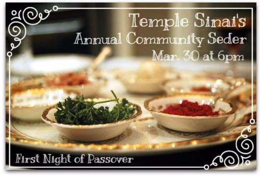 Community Seder 2018