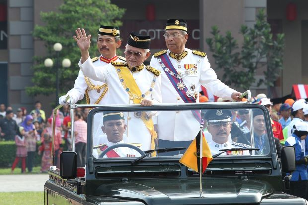 Emperor's Clothes - Taib shows who's boss