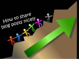 how to share nicely
