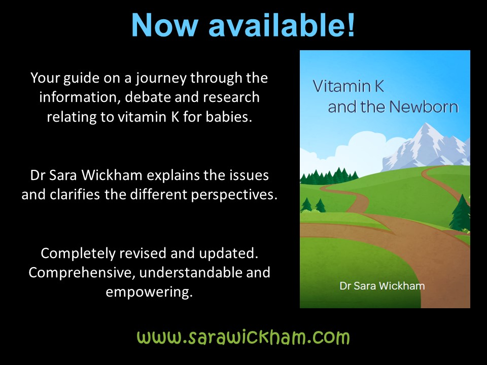 Vitamin K and the Newborn - now available!