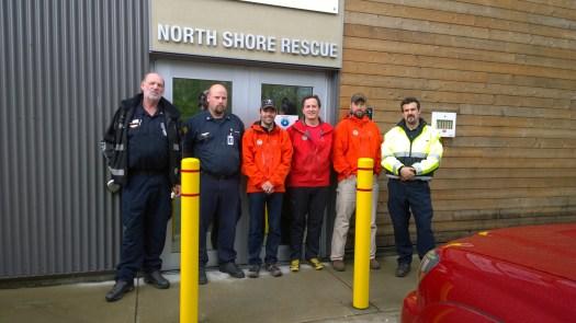 Search and Rescue BC trains North Shore Rescue