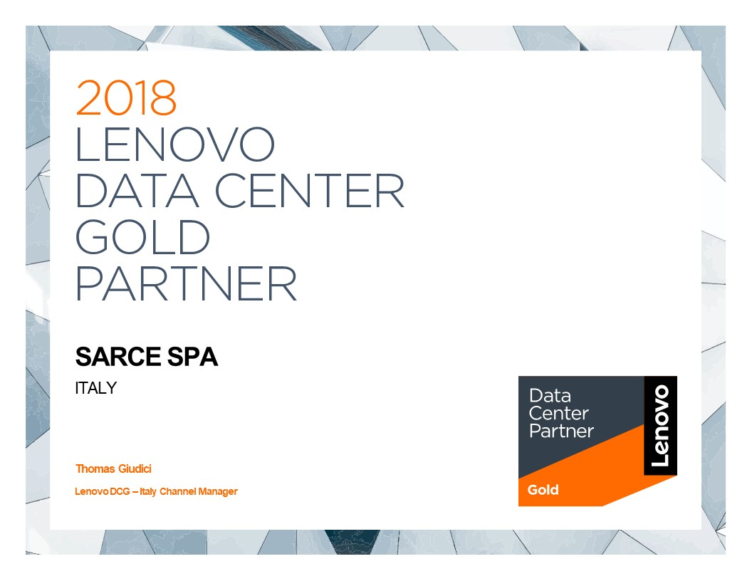 Lenovo Partner Sarce