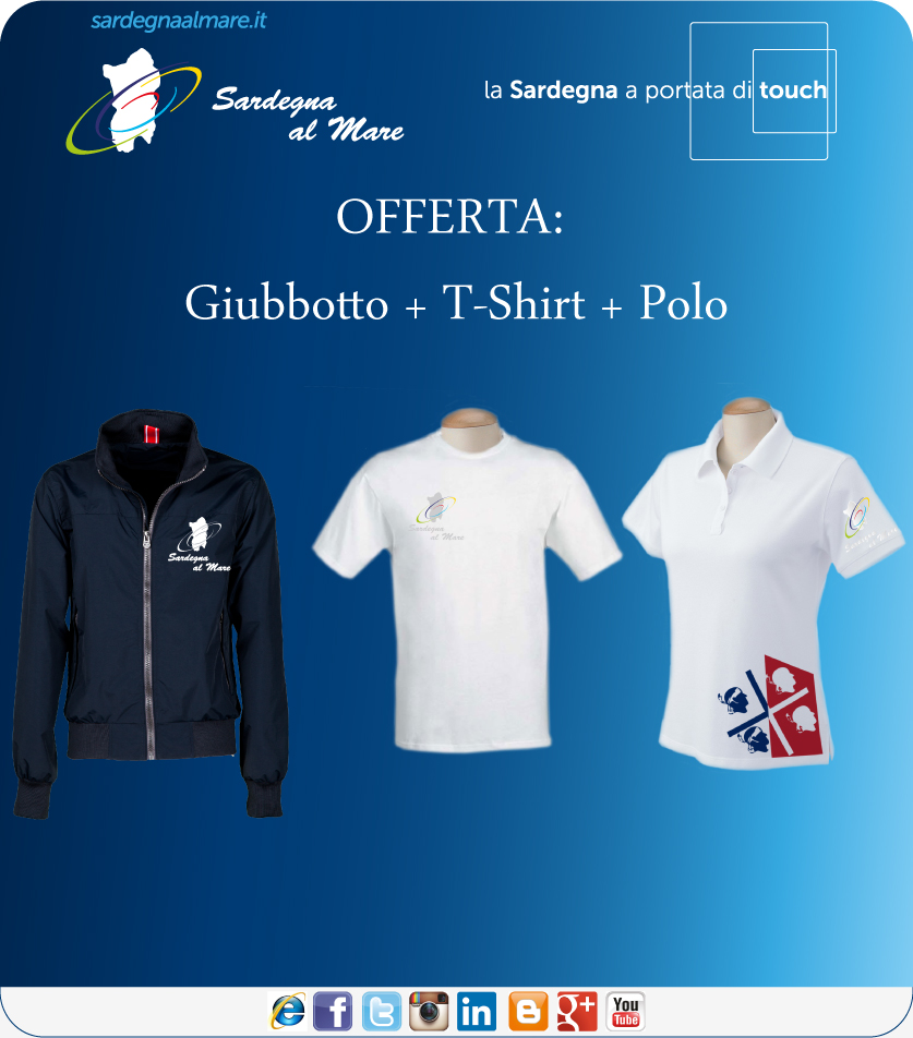 best cheap 8de7e 68d26 Offerta 10%: Giubbotto + T-Shirt + Polo