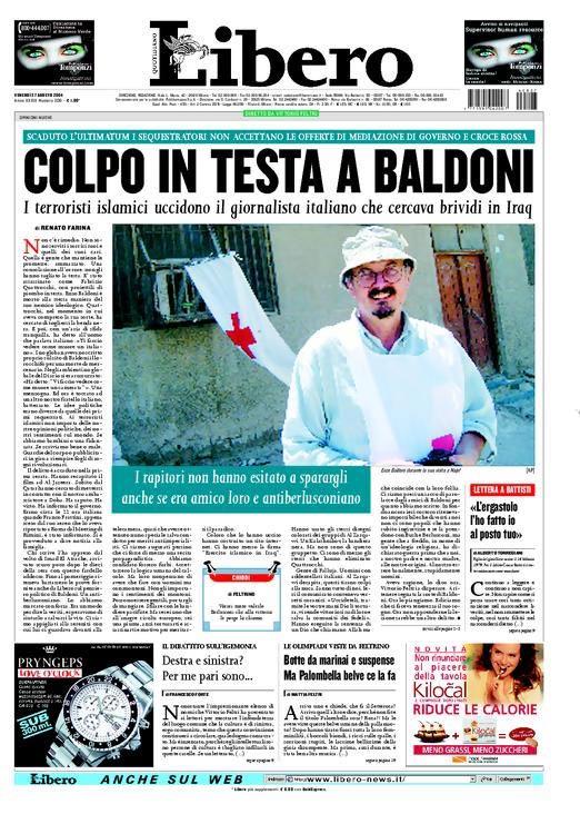 Informazione violenta (di Francesco Giorgioni)