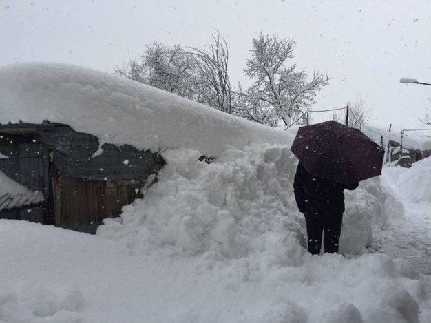 19 gennaio: stranamente nevica. (di Giampaolo Cassitta)