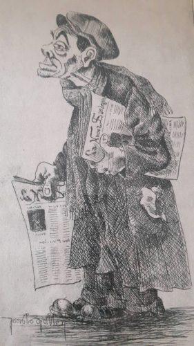Personaggio del giorno: Agostino lo strillone (di Cosimo Filigheddu)