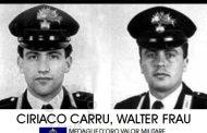 16 agosto 1995: a Walter Frau e Ciriaco Carru  (di Alba Rosa Galleri)